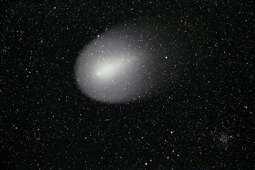 Comet Holmes with NGC 1245