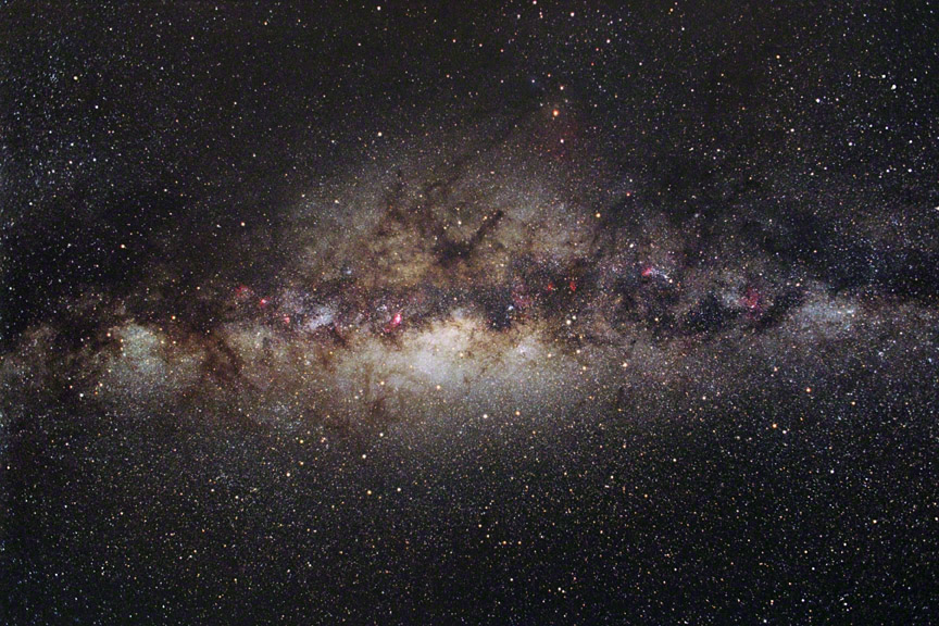 Central Milky Way