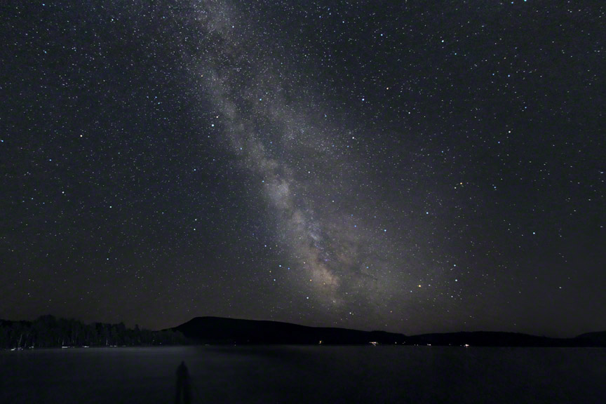 Milky Way Over Speculator Mountain